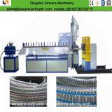 강철에 의하여 강화되는 나선형 호스 연약한 PVC 내미는 생산 라인
