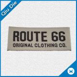 Etiqueta tecida personalizada do nome da tela para a bagagem/sapatas