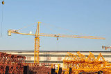 Mingwei Construction Hrdraulic Tower Crane (TC5013) mit max Load 6 Tons und Boom 50m