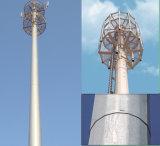 Liberare la torretta d'acciaio del singolo tubo del basamento per le Telecomunicazioni