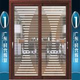 Дверь алюминия самой большой фабрики Foshan предлагая вися