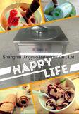 De Machine van het Roomijs van het Gebraden gerecht van het Broodje van de Stijl van Thailand met Vlakke Lijst