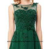 Vestido Chiffon longo elegante do vestido de noite dos vestidos de noite