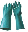 Перчатки нитрила Шанхай Lingtech химически упорные