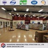 Costruzione commerciale d'acciaio per il negozio di alimentari con il magazzino