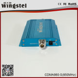 Amplificateur mobile de signal de la taille CDMA980-S 900MHz 3G de répéteur de Wingstel mini pour le téléphone