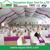Tent van het Huwelijk van de Partij van de Markttent van de levering de In het groot in Doubai