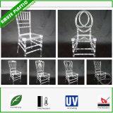Пластичный ясный акриловый кристаллический стул венчания