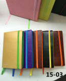 Qualität PU Leather Cover Notebook mit Magnetic Closure