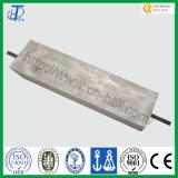 Acceso del ánodo sacrificatorio de la aleación de aluminio