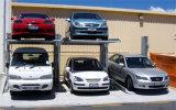 Домашний автомобиль столба гаража 2 обстрагывая подъем