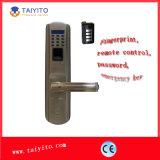 Verrou de porte biométrique imperméable à l'eau d'empreinte digitale de prix bas d'usine de la Chine
