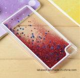 Cas liquide annexe de couverture de téléphone cellulaire de sable d'étoile de téléphone mobile bon marché pour la caisse de téléphone de sable mouvant de Huawei P8/P9