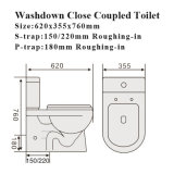 Watermark Water Closet Sanitary Ware Wc Toilettes en céramique