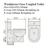 Ceramische Toilet van WC van de Waren van het Watercloset van het watermerk Het Sanitaire