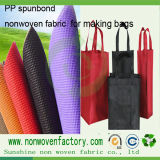 Tela no tejida de los PP para la fabricación de los bolsos