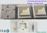 luz sin hilos del interruptor Emergency 3W por el AAA con pilas