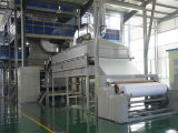 2.4m Three Die PP Spun Bond Non Woven Fabric Machinery