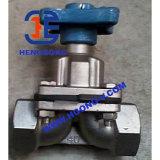 API/DIN gerade durch Form-Stahl-Flansch-Membranventil