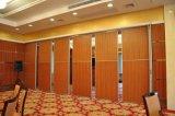 Paredes de divisória móveis de madeira Sound-Proof para o restaurante