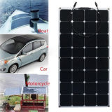 100W venta caliente Semi Flexible panel solar con células Sunpower