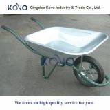 Carretilla de rueda modelo de Francia con la rueda del sólido 6kg