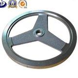 Rueda volante de la rueda de ardilla del bastidor del hierro gris del OEM para el equipo de la gimnasia/el equipo de Firtness