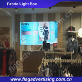 Schlanke LED LED Stoff Light Box