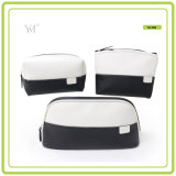 Nouveau produit en gros Black and White Custom Cosmetic Pouch