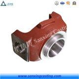 Bâti en acier d'investissement élevé de manganèse d'OEM utilisé dans des machines de construction