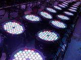 lámpara de la IGUALDAD del color de la mezcla de 12PCS/54 x de 3W para la luz de la etapa del partido del disco de la luz de la música de la lámpara del partido del club