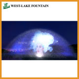 Fonte da tela de água para o filme, vídeo, retrato, projeção do laser