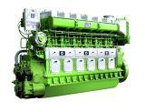 двигатель дизеля морского пехотинца расхода топлива 500kw 4-Stroke низкий