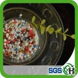 Umidade granulada 1.5%Maz da liberação lenta 2~4mm do Bb do fertilizante 20-20-15 +Tefertilizer de NPK