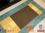 Tapis tissé de salle de bains de PVC d'étage de couvre-tapis de PVC de vinyle
