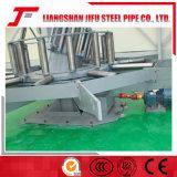 生産ラインを形作る溶接の管