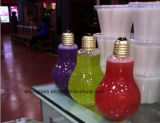 botellas de cristal 250ml para la bebida, jugo, leche, agua con la tapa