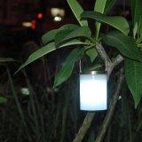 زاويّة مسيكة شمسيّ يزوّد حديقة يعلّب أضواء