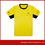 Kundenspezifischer kurzer Hülsen-Sport-Shirt-Hersteller (R58)