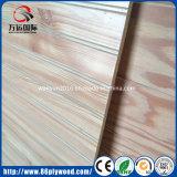 Декоративная панель Grooved Plywood/MDF с шлицами u v