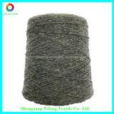 Fio para confeção de malhas grosseiro dos pontos da cor do poliéster de 90% para a camisola (YF14190)