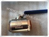 L'extension soudée a modifié le robinet à tournant sphérique (Q11Y-6000PSI)