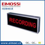 Método del interruptor del LED en muestra completa del aire