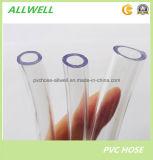 Шланг пробки воды PVC пластичный гибкий ясный прозрачный ровный