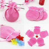 ピンクのビロードのギフトの袋袋