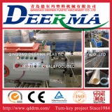 Tubo del abastecimiento de agua del PVC de la alta calidad que hace la máquina/el estirador