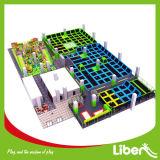 مزوّد ضخمة داخليّة [ترمبولين] مركز مع صنع وفقا لطلب الزّبون تصميم
