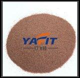 모래 폭파 석류석 거친 모래 30/60/80 메시 석류석 모래