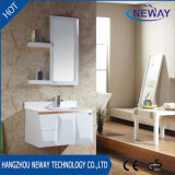 Modules de bassin de salle de bains de PVC de modèle simple avec le miroir