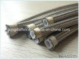 SAE100 R14 Kingdaflex Edelstahl-umsponnener hydraulischer Teflonschlauch